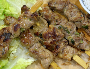 Thai Beef Skewer (Raw Marinated)