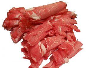 Beef Shabu-Shabu Topside